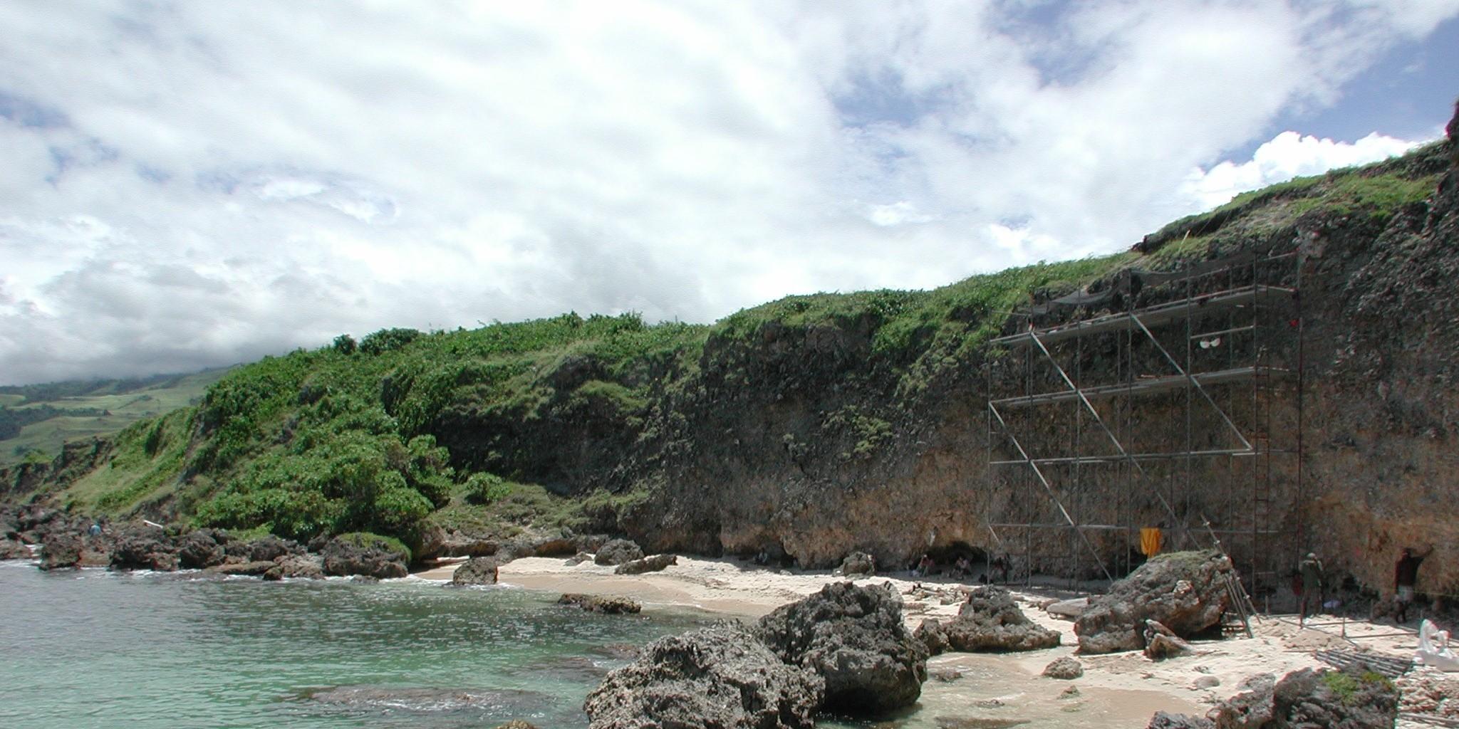Fossiilinen koralliriutta